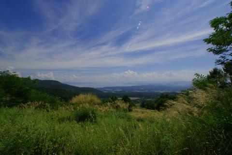 山からの風景