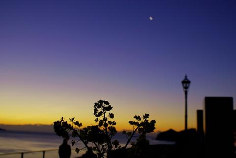 日の出が出る前